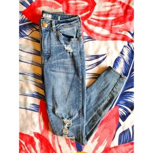 Size 5-Miami High Rise Super skinny